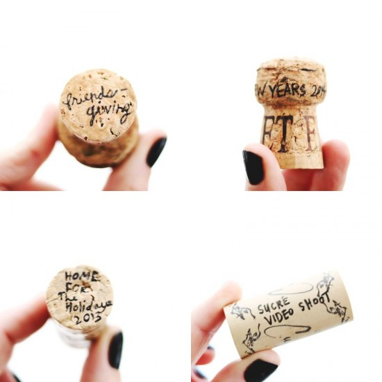 Wine Cork Memories