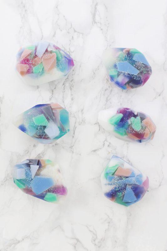 Gemstone Soap DIY