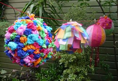 Homemade Pinatas
