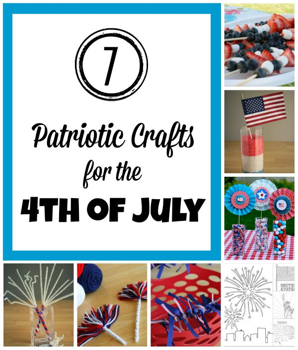 7 Patriotic Crafts for the 4th of July