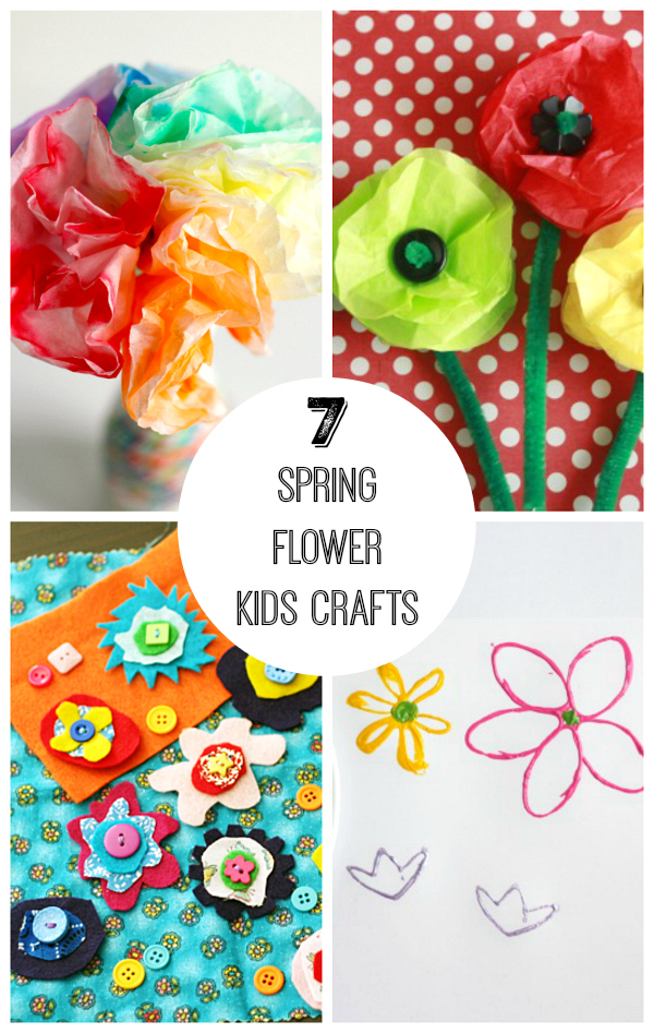 7 Spring Flower Kids Crafts