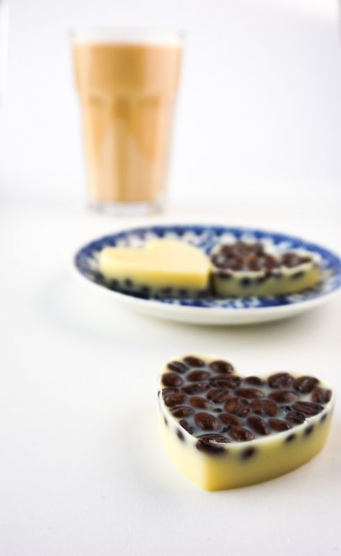 DIY Vanilla Latte Lotion Bars