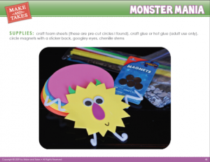 Monster Crafts Sample 1
