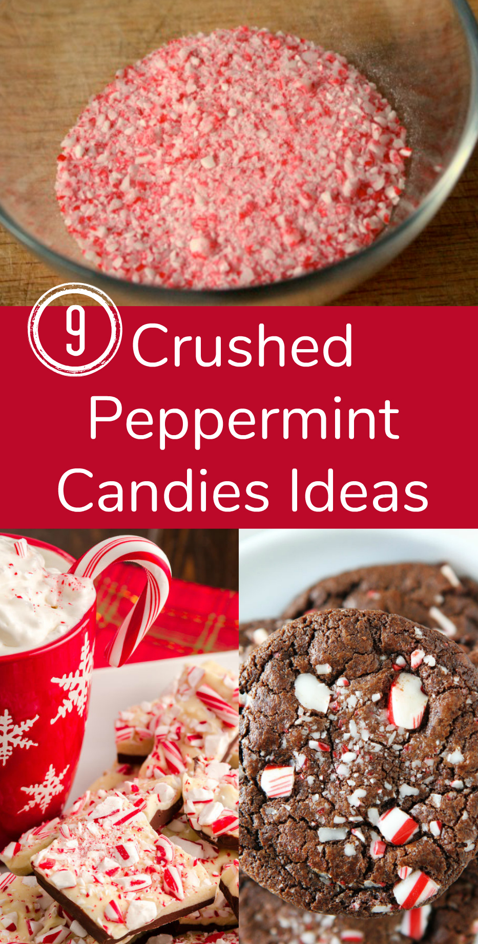 9 Crushed Peppermint Candies Ideas