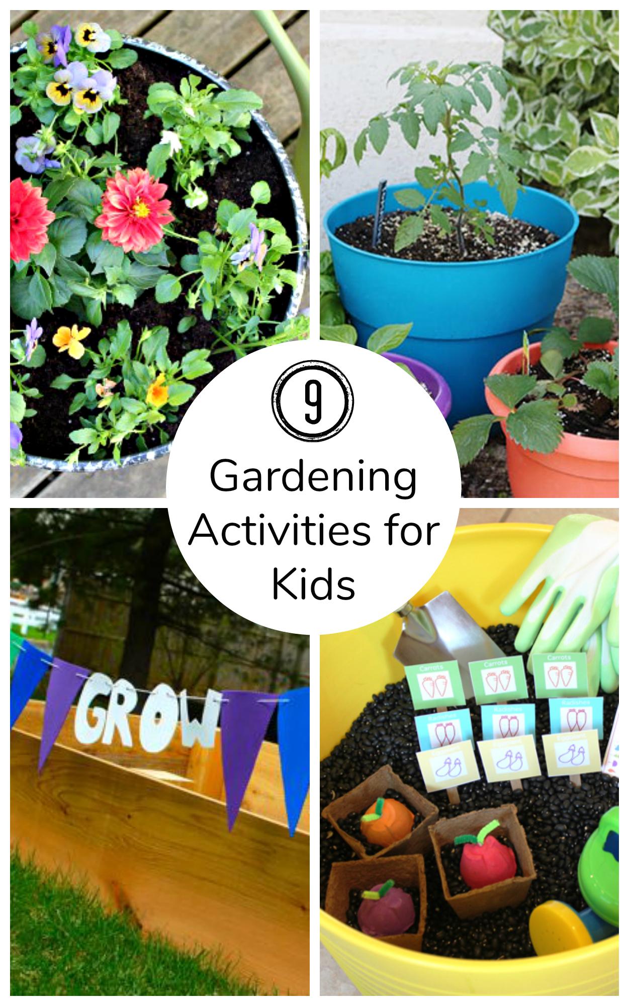 9 Fun Gardening Activities for Kids