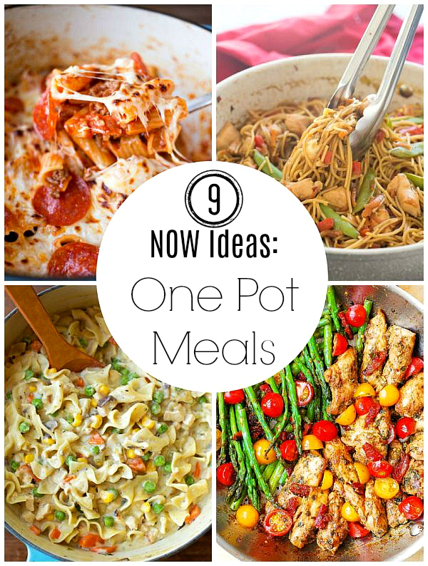 9 Ideas for One Pot Meals