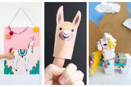 9 NOW Ideas for Crafting Llamas