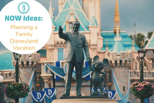 9 Now Ideas for Planning a Family Disneyland Vacation