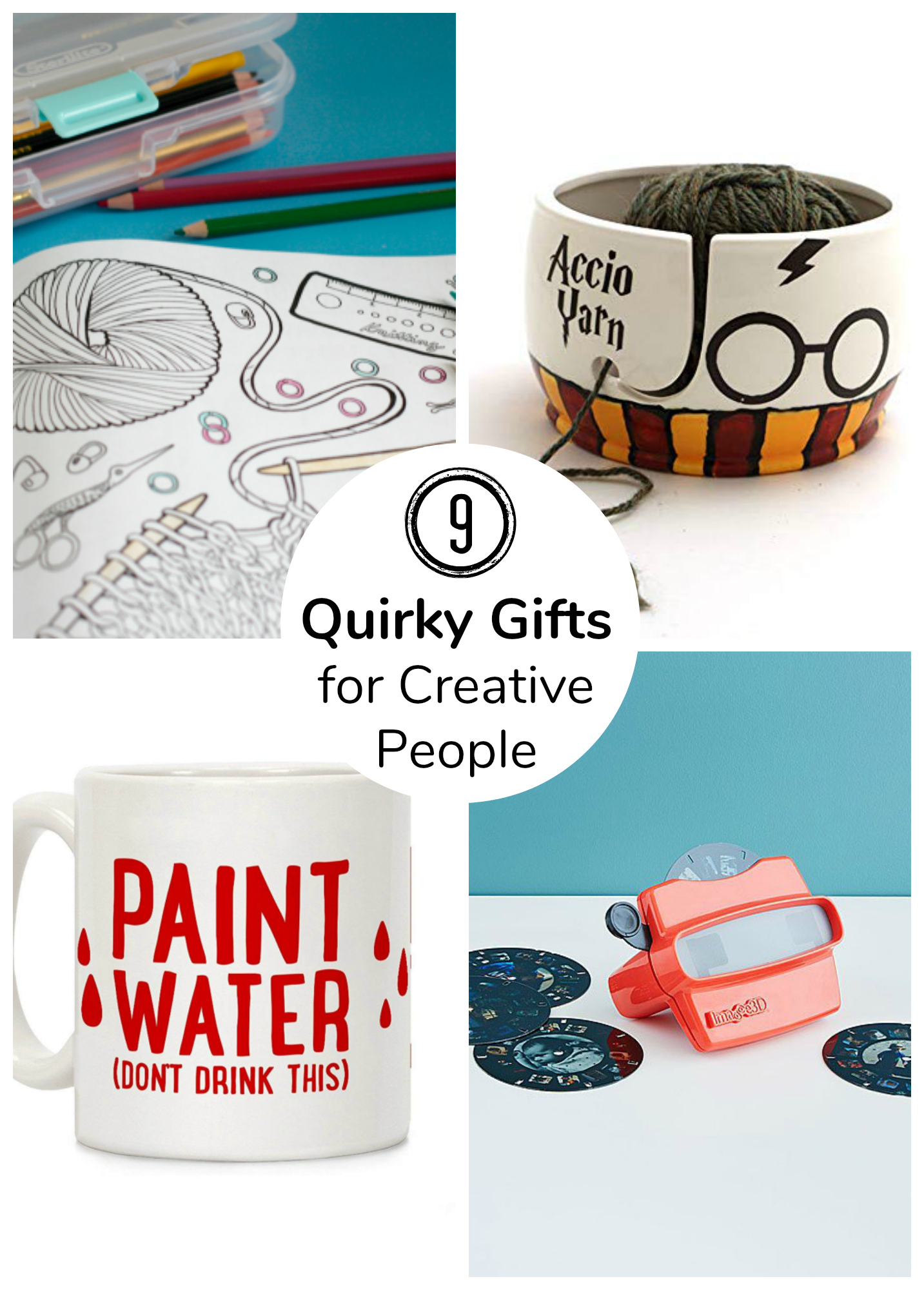 9 Quirky Gifts for Creative People