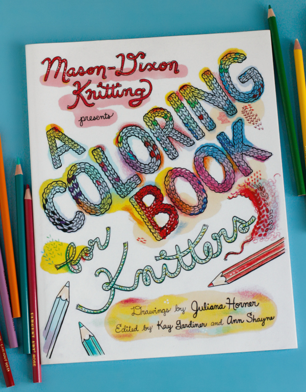 adult coloring books for knitters - A Coloring Book
