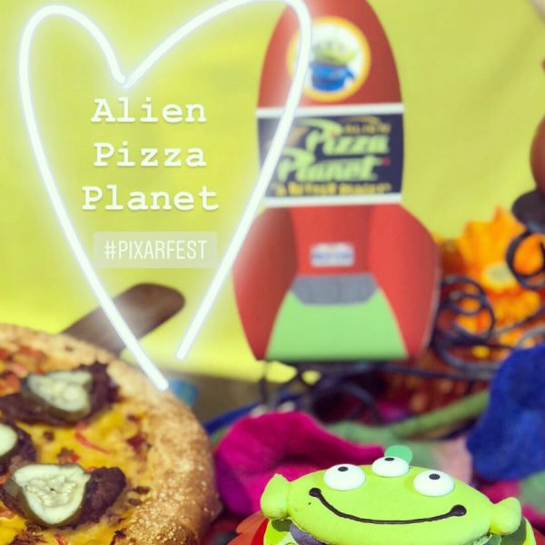 Alien Pizza Planet for Pixar Fest