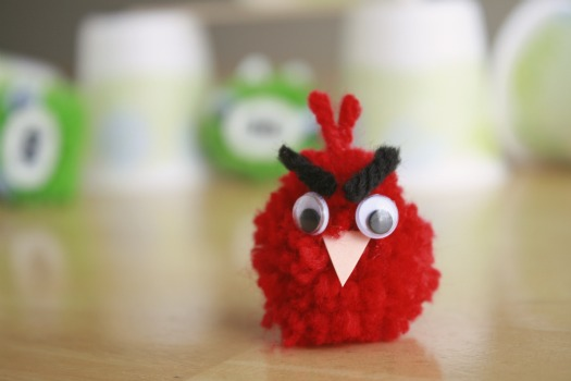 Angry Birds Yarn Craft