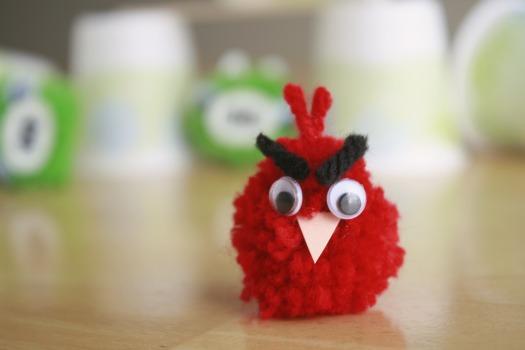 Angry Birds Yarn Craft