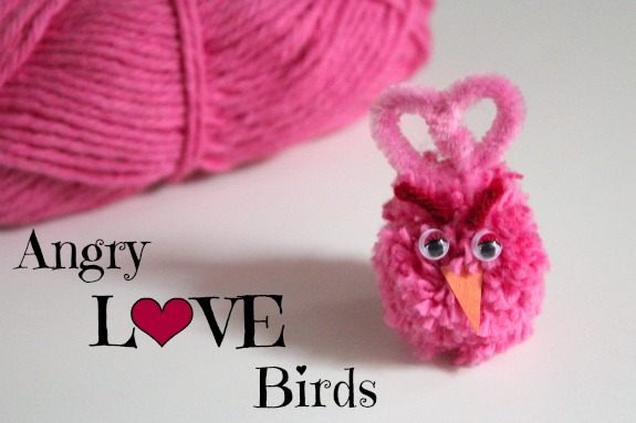 Crafting Angry LOVE Birds