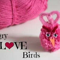 Crafty Angry LOVE Birds