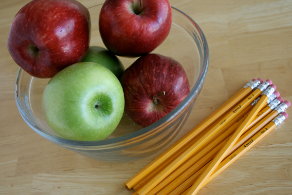 Apple Pencil Bouquet Supplies