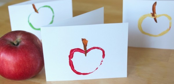 Apple Stamped Cards Featured