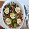 Asparagus Bacon and Egg Side Dish
