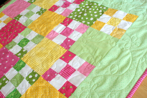 Baby Nine Patch Quilt