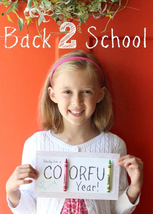 Back 2 School Teacher Gift