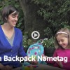 Backpack Name Tag Video How-to