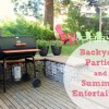 Backyard Parties and Summer Entertaining