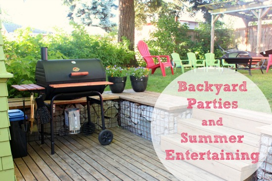 Summer Backyard Ideas : Getting Ready for Backyard Parties and Summer Entertaining  Make and