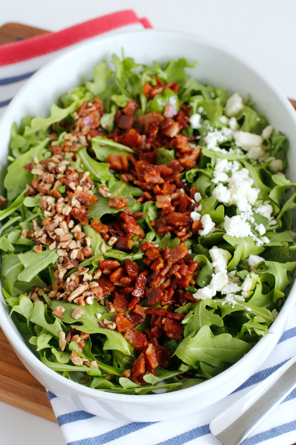 Bacon and Arugula Salad