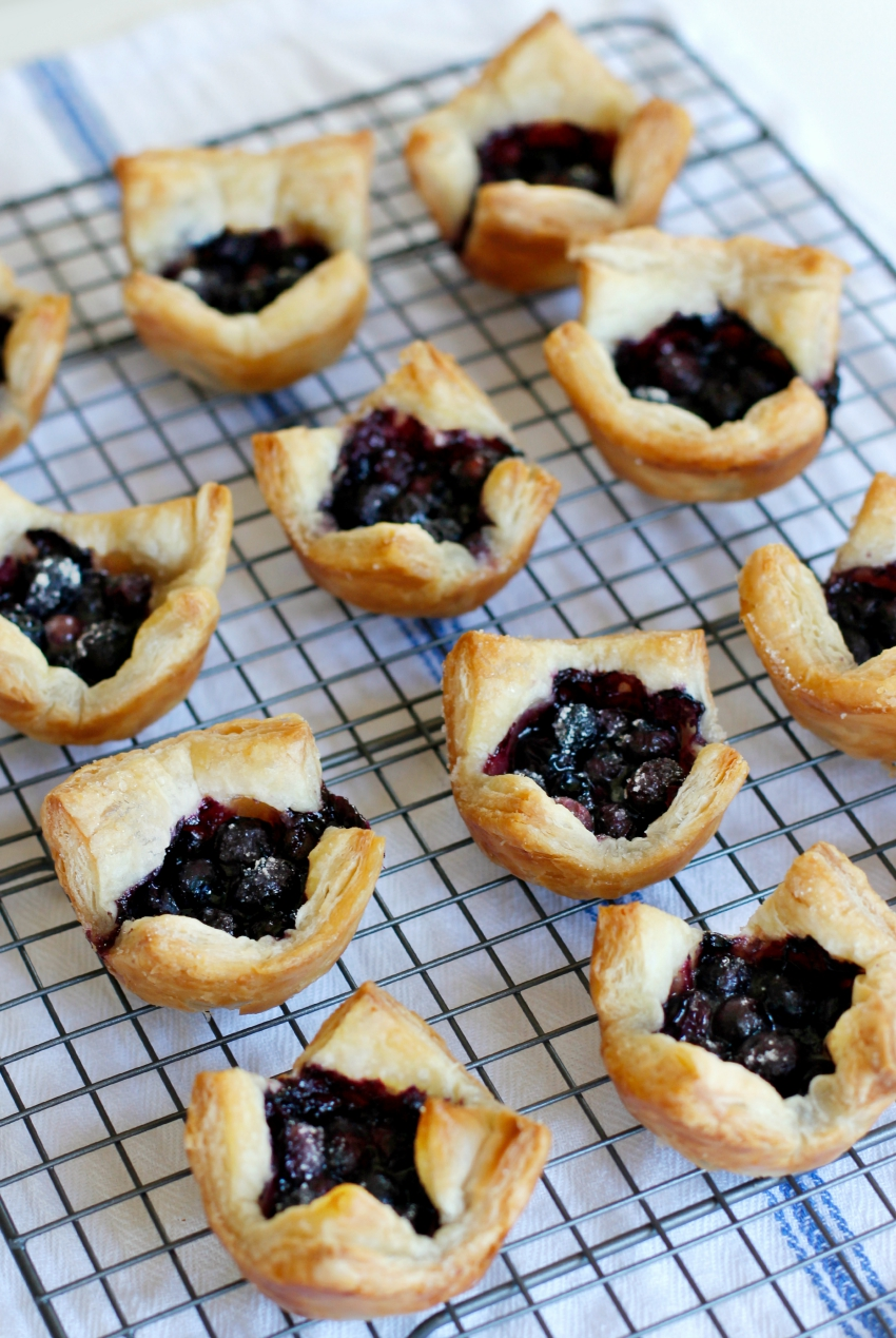 Bake Mini Blueberry Tarts in a Muffin Tin