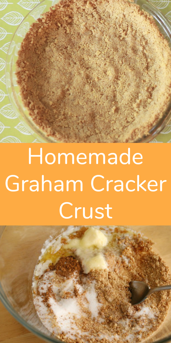 Bake up a homemade graham cracker crust