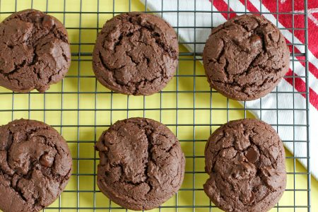 Baking Chocolate Cake Mix Cookies