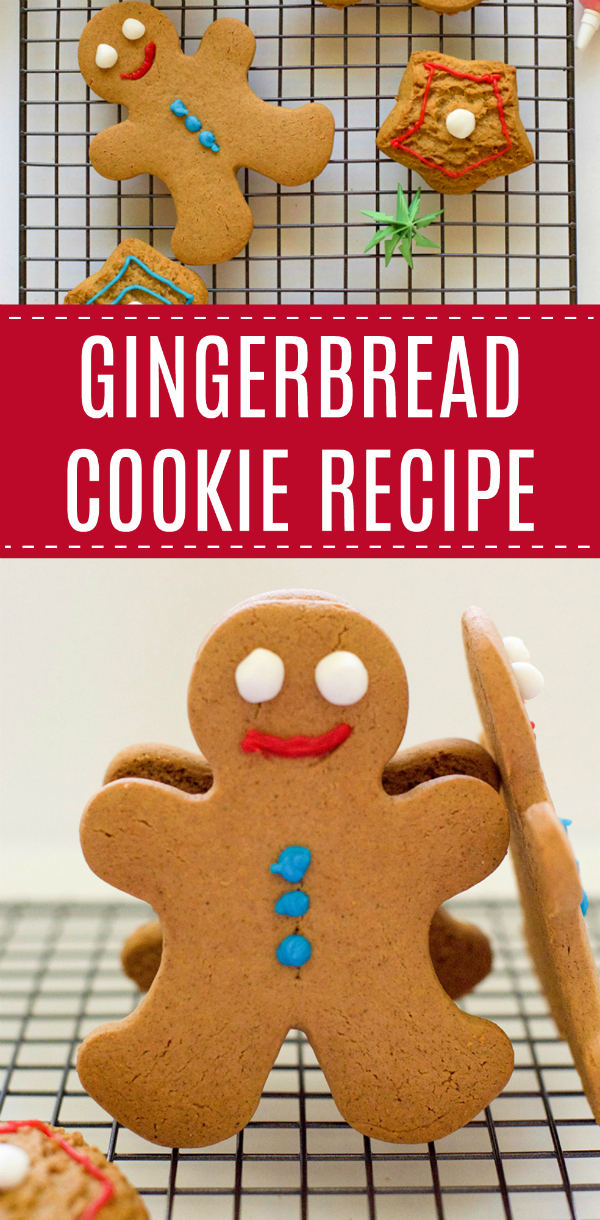 Baking Gingerbread Cookie Recipe
