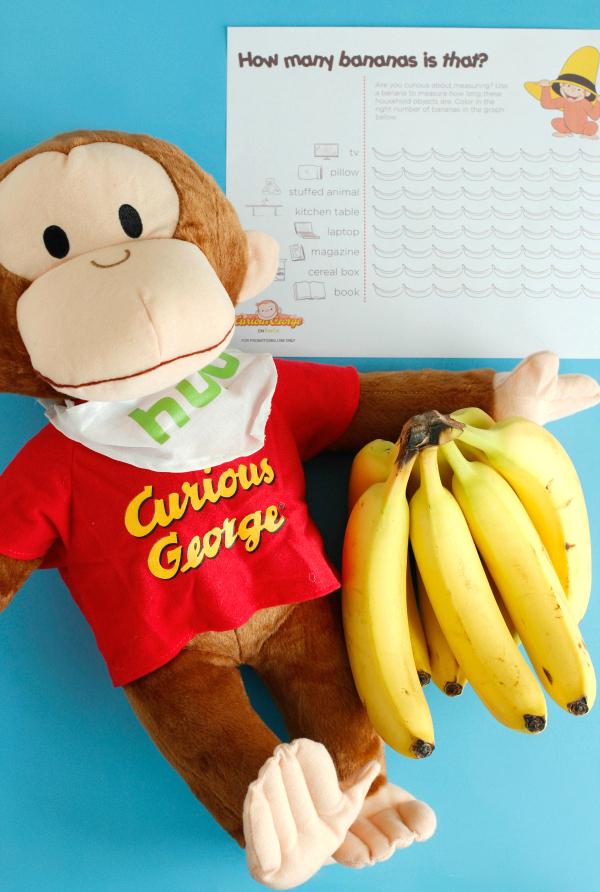 Banana Measuring Graph Activity for Kids