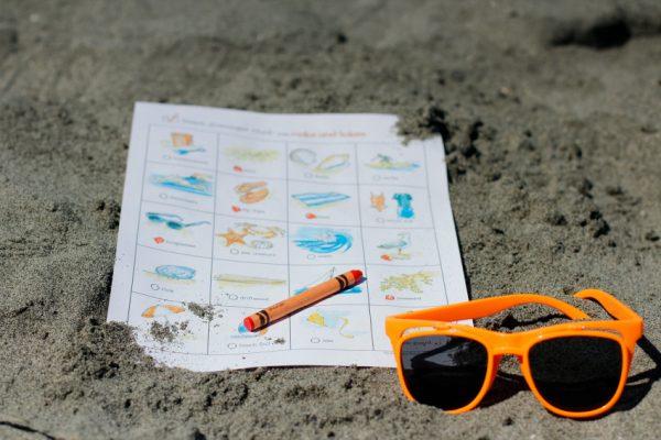 Beach Day Scavenger Hunt
