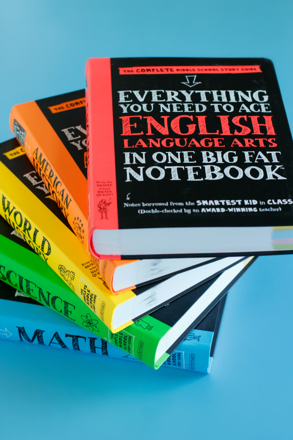 Big Fat Notebooks for Middle Schoolers