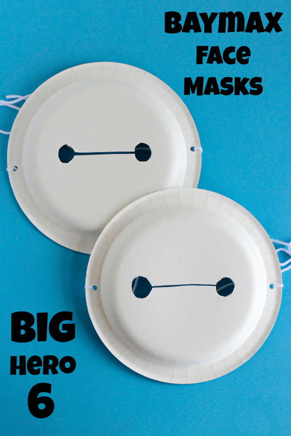 Big Hero 6 Baymax Face Masks