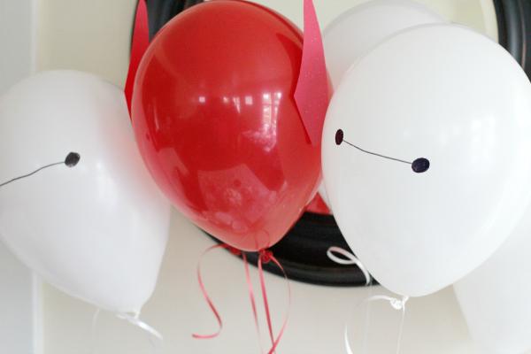 Big Hero 6 Baymax Party Balloons