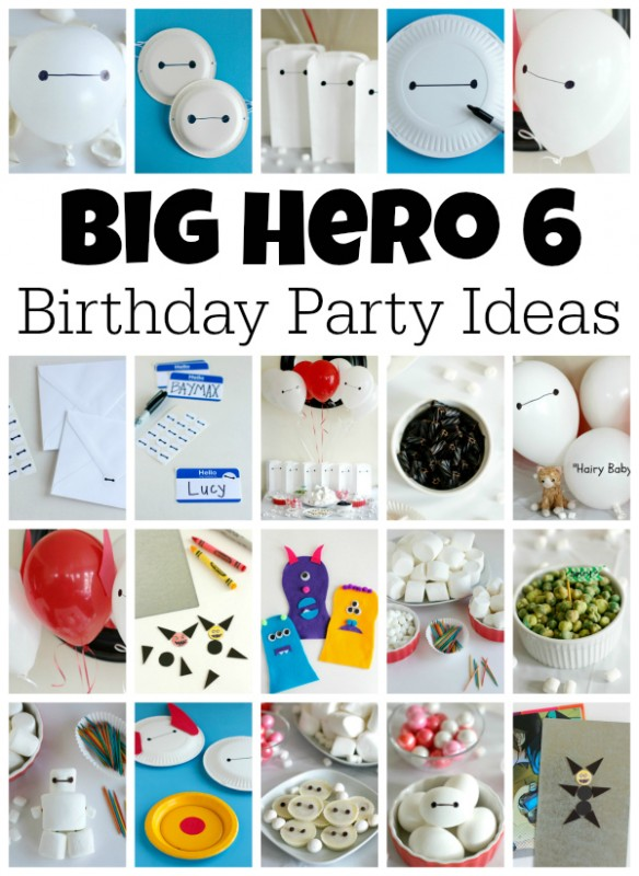 Big Hero 6 Birthday Party Ideas