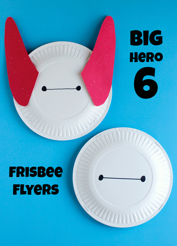 Big Hero 6 Frisbee Flyers Craft