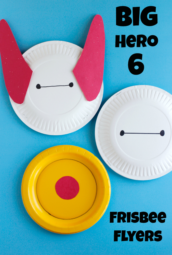 Big Hero 6 Frisbee Flyers Craft