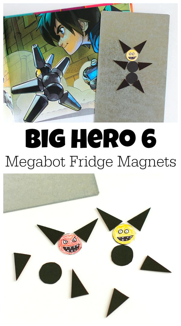 Big Hero 6 Megabot Fridge Magnets