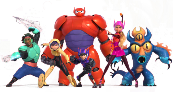 Big Hero 6 Team Super Heros