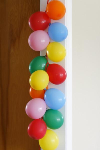 Celebrate a Birthday with a Balloon Banner - Make and Takes
