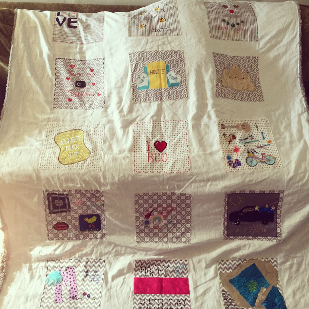 Birthday Family Memory Quilt
