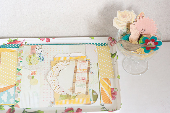 Bits and Pieces Springtime Garland Supplies