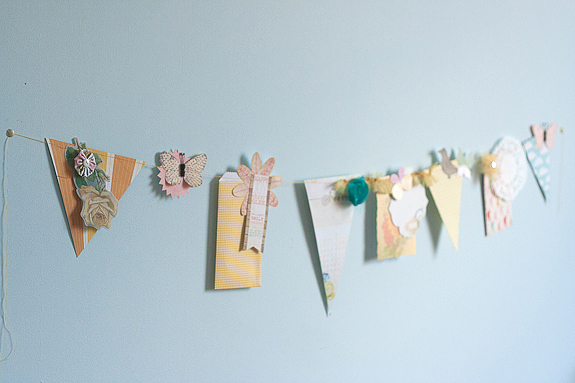 Bits and Pieces Springtime garland
