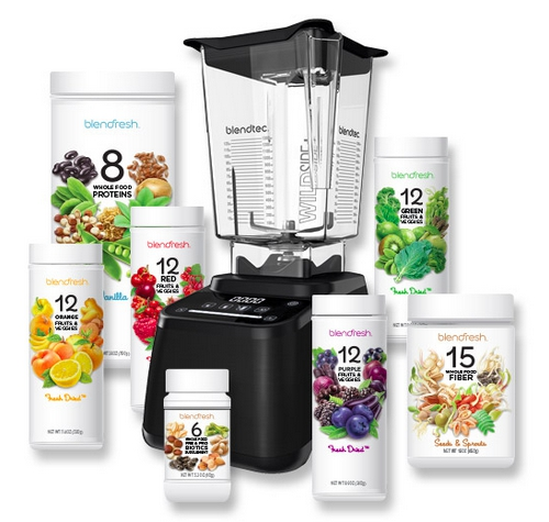 Blendtec Blenders and Blendfresh Dried Fruit Product
