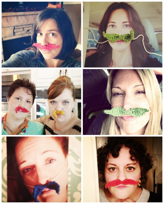 Blogging Babes #MustacheBombing