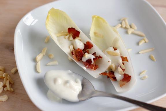 Blue Cheese Endive Appetizer @makeandtakes.com