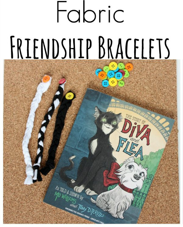 Braided Fabric Friendship Bracelets